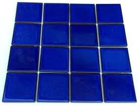 cobalt blue tile mosaic tile for walls floor backsplash