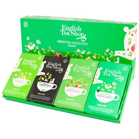 The Shop Edc Green Tea tea shop organic green tea collection 60 bags