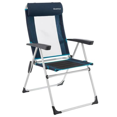 siege de plage decathlon fauteuil inclinable bleu decathlon