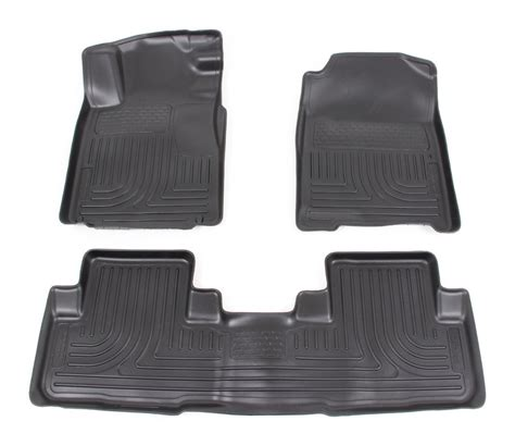 floor mats for honda crv floor mats for 2012 honda cr v husky liners hl98451