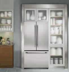 monogram zwepshss pro style  cu ft counter depth french door refrigerator stainless steel