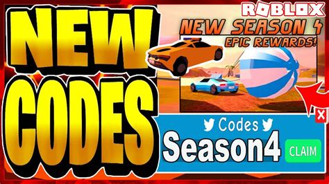 If you have any questions, please comment below. ALL NEW *EXCLUSIVE* JAILBREAK CODES! SEASON 4 ROBLOX - YouTube