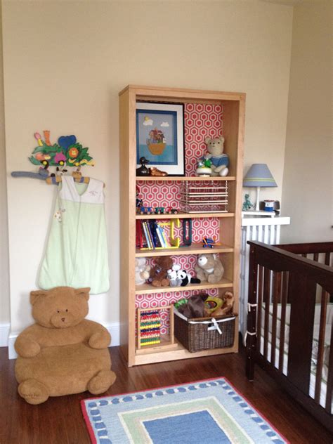 Bookcases For Nursery by Lining Bookshelves Decorating Inside The Box Jewels At Home