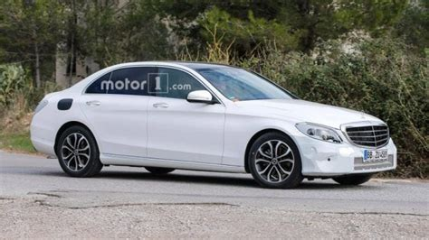 2019 Mercedesbenz Cclass Spied