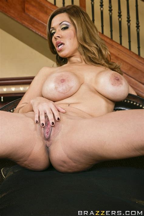 Milf Pornstar Sienna West Is Stripping And Touching Her Hot Pussy