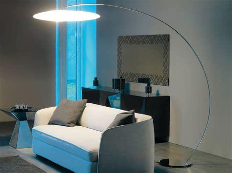 cattelan italia astra arc floor lamp  piero de longhi