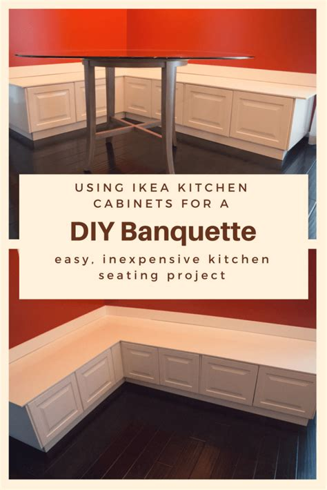 building seating supports  diy banquette dining
