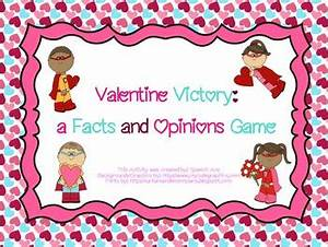Valentine Victory: a Facts and Opinions Game FREEBIE by ...