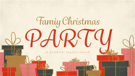 Fun Family Christmas Party Games