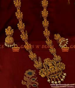 Antique Temple Jewellery Designs In Gold - Best 2000