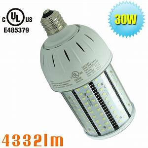 W led corn light retrofit outdoor area lighting volt