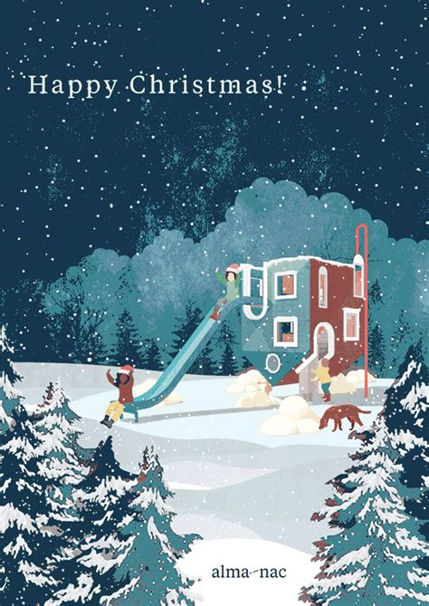 coolest christmas cards   top architects