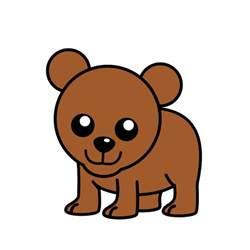 Animated Cartoon Bear