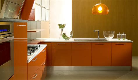 Kuche Orange by Orange Kitchens