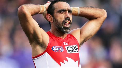 Adam goodes has knocked back a chance to be inducted into afl's hall of fame. Adam Goodes attacked by fans over new interview