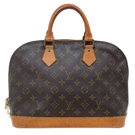 louis vuitton monogram canvas alma pm bag buy sell lc