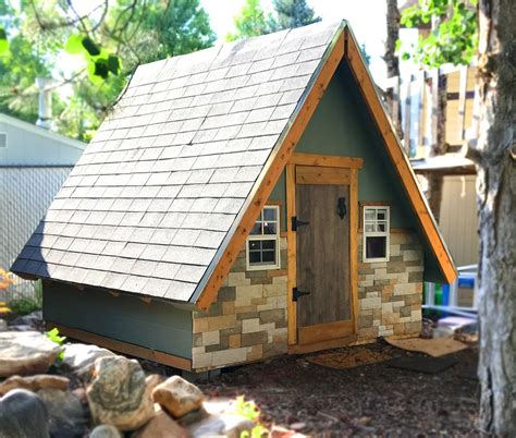 frame playhouse plan  wood plan  kids pauls