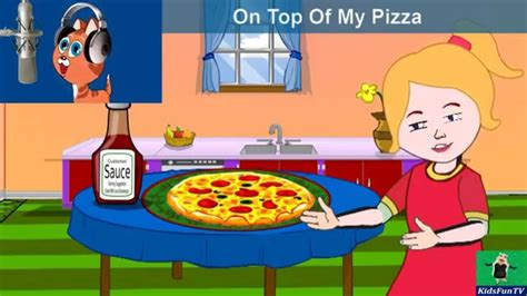 On Top Of My Pizzaby Kids  Animated Nursery Rhymes