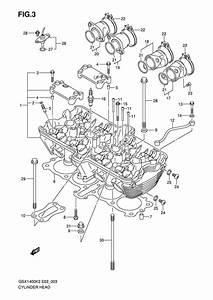 Cylinder Head For 2004 Suzuki Gsx1400