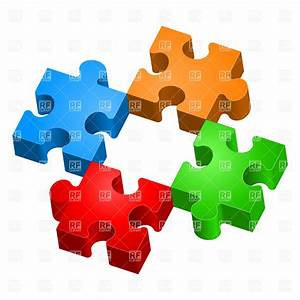 Missing piece - colorful jigsaw puzzles, 7191, Design ...
