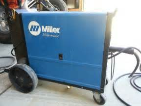 Miller 185 Mig Welder  With Bottle And Wire    Ready To Go