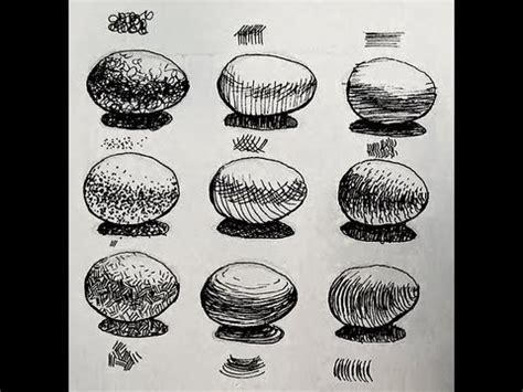 ink shading challenge  ways  shade  egg