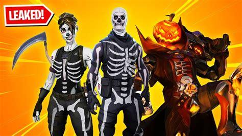 halloween skins  fortnite skull trooper
