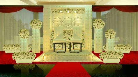 asian wedding stage design  youtube