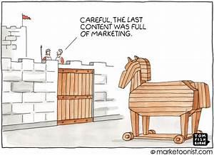 Trojan Horse Marketing cartoon Marketoonist Tom Fishburne