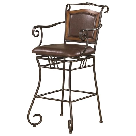 coaster dining chairs and bar stools 29 quot metal bar stool