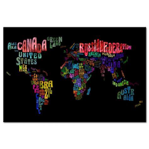 Carte Du Monde Avec Nom Des Pays Et Océans by Tableau Carte Du Monde Nom Des Pays