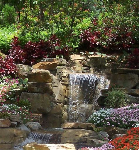 best 25 outdoor waterfalls ideas on diy