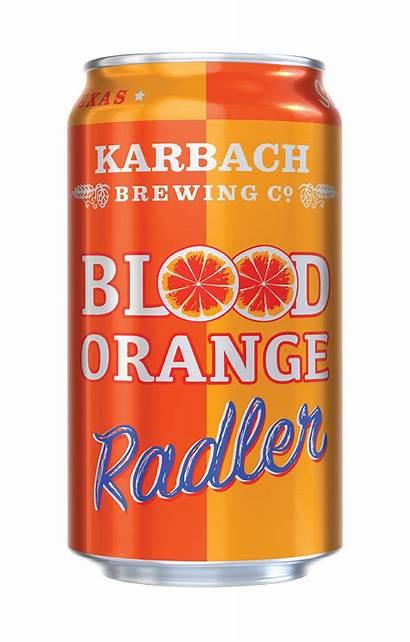 Blood Orange Beer Radler Karbach