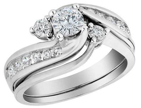interlocking engagement wedding ring sets engagement rings and wedding band sets wedding promise