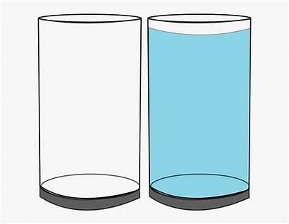Glass Empty Cup Cartoon Netclipart Broken Jar