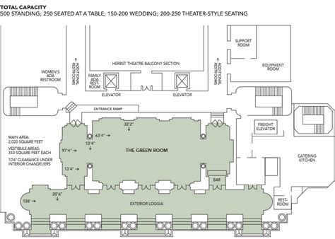 san francisco war memorial floor plans