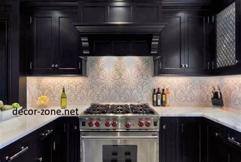 wallpaper in kitchen ideas creative kitchen wallpaper ideas designs patterns