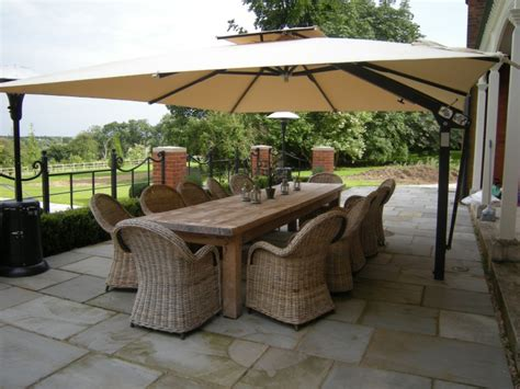 large cantilever patio umbrellas uk the 6 stages of sun shading wind and protection