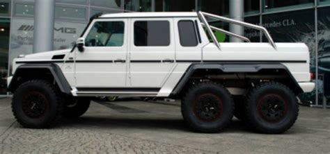 Mercedes-benz G 63 Amg 6x6 For Sale.100 Produced Cars