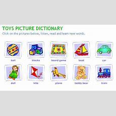 2nd Grade A  Unit 3 Vocabulary Practice Toys