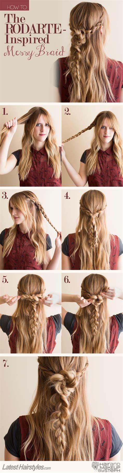 tutorials step by step hair 15 stylish half up half tutorials pretty designs Diy