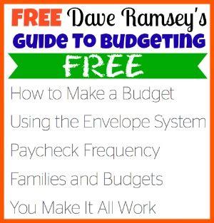 Dave Ramsey Budget Kit Free Download