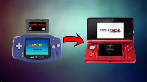How To Play Game Boy Advance Games As 3ds Virtual Console