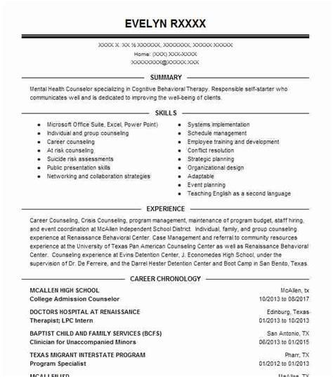 write  resume  college applications