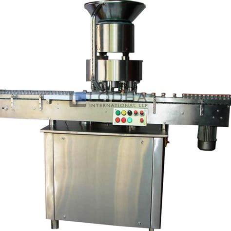high speed vial cap sealing machine phial sealing machine aal