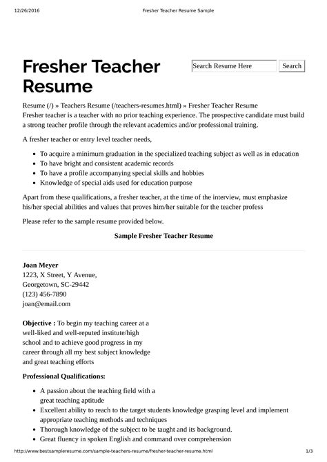 Resume format pick the right resume format for your situation. Preschool Teacher Resume Without Experience | Templates at ...