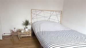 Fabriquer Tete De Lit Capitonnée : comment fabriquer une tte de lit best faire une tete de ~ Nature-et-papiers.com Idées de Décoration