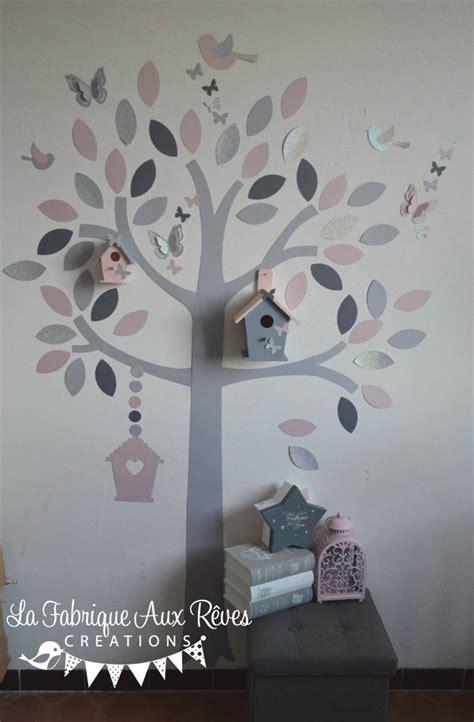 chambre grise et poudré stickers chambre bebe garcon jungle