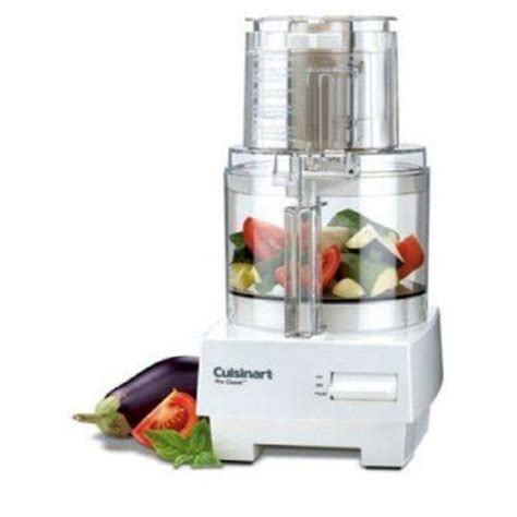 cuisinart home cuisine cuisinart pro 7 cup food processor dlc10s the