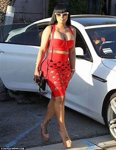 Blac Chyna Is Red Hot While Attending A Friend's Event In ...